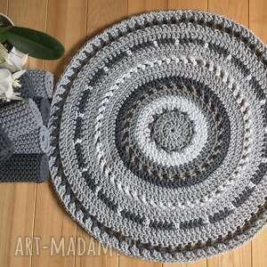 dywan okrągły azur o średnicy