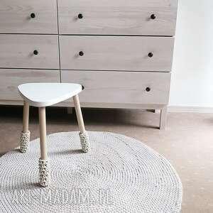 ręcznie wykonane dywany chodnik okrągły dywan z bawełnianego