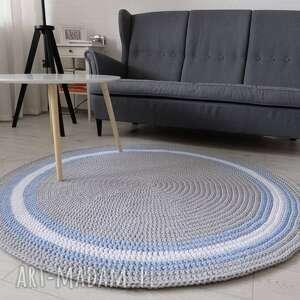 gustowne ze sznurka okrągły dywan foggy o średnicy 150