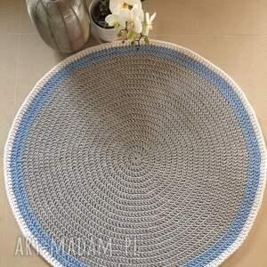 ze sznurka okrągły dywan o średnicy 110 cm