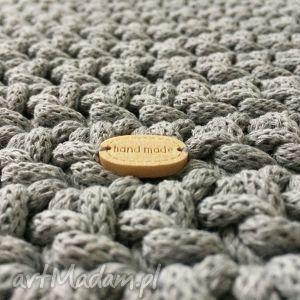 Okrągły dywan ze sznurka bawełnianego - 150 cm - okragły dekoracja