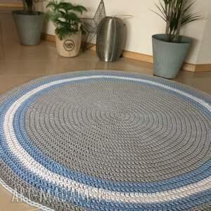 oryginalny okrągły dywan foggy o średnicy 140