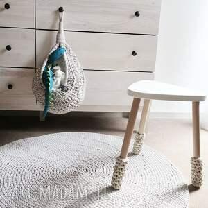 ręcznie wykonane dywany okrągły dywan z bawełnianego