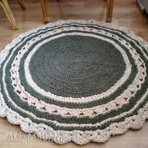 dywan okrągły dywanik ze sznurka na