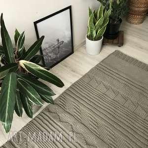 unikalne dywany dywan patchworkowy ze sznurka