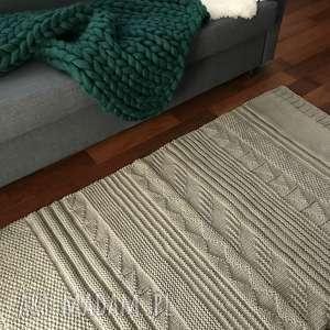 dywany sznurek patchworkowy dywan ze sznurka