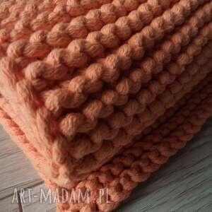 pomarańczowy dywany dywan ze sznurka 80