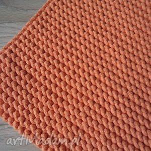 dywany pomarańczowy dywan ze sznurka 80