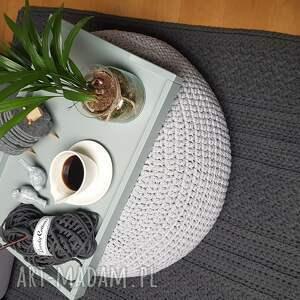 dywany salon prostokątny dywan szydelkowany