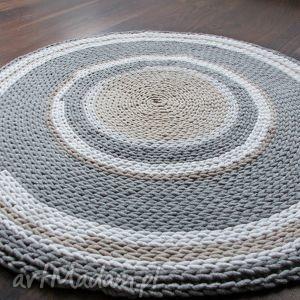niesztampowe dywan ręcznie robiony w pastelowych