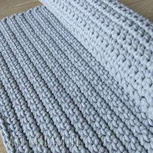 dywany chodnik szary dywan ze sznurka 60 x 75 cm