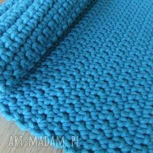 dywany niebieski turkusowy dywan ze sznurka