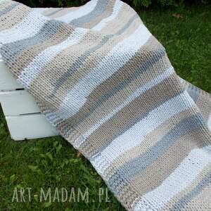 sznurek zmiksowany prostokątny dywan