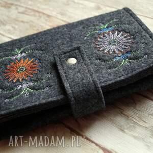 handmade etui filcowe na czytnik