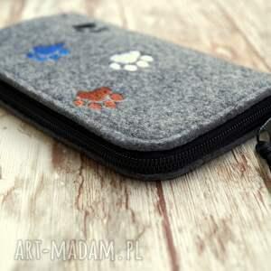 handmade etui smartfon filcowe na telefon