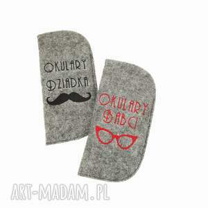 hand-made etui na okulary babci
