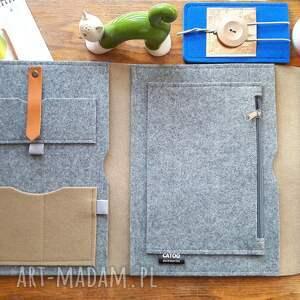 CATOO accessories Organizer filcowy na dokumenty, laptop, tablet prezent