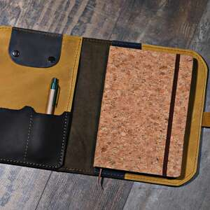 brązowe etui etui-na-tablet organizer, notes, kalendarz