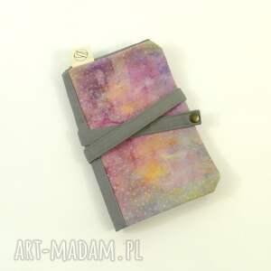 piórnik etui szare cosmic dust pink&grey (duży)
