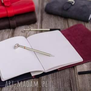 etui ręcznie robiony skórzany notes