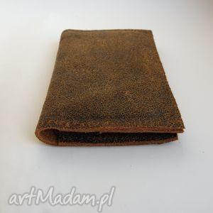 hand-made etui skóra skórzane na karty i dokumenty