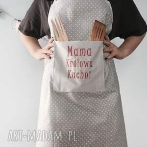 mama szare fartuch królowa kuchni