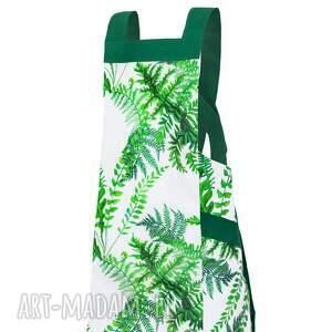 zielone fartuch paprocie nowoczesny