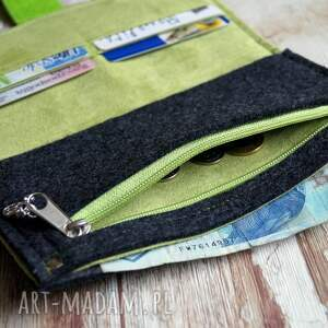 ekozamsz filcowy portfel