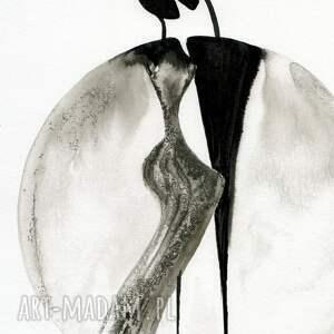minimalizm grafika 30x40 cm wykonana ręcznie