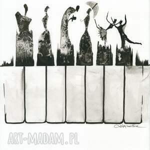 obrazy ręcznie malow grafika 30x40 cm wykonana
