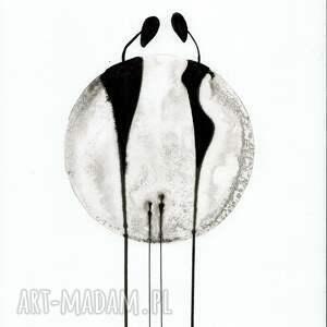 grafika minimalizm a4 malowana ręcznie