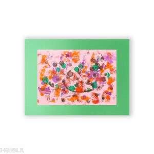 abstrakcja różowe abstrakcyjna grafika