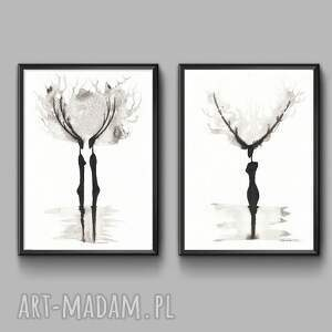 szare grafika obraz-grafika czarno-biała minimalizm