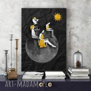 grafika energia... - art print 30x40 cm