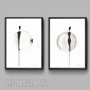 oryginalne obraz do sypialni grafika kobieta minimalizm