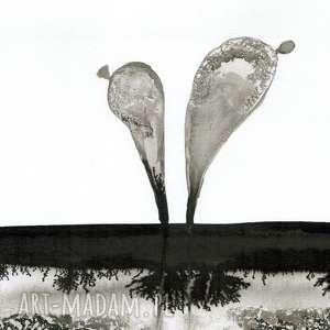 minimalizm obraz malowany ręcznie 30 x 40