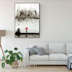 plakat-romantyczny grafika białe obraz ręcznie malowany, akwarela