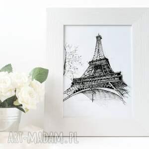 oryginalne eiffla wieża paryż