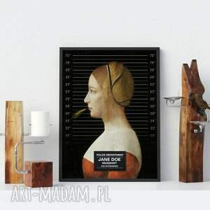 awangardowe kobieta plakat obraz jane doe 50x70 cm