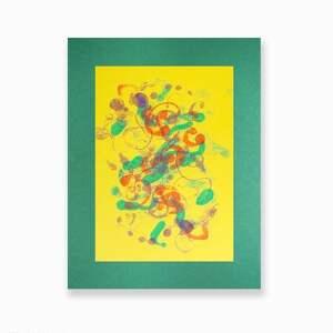 annasko abstrakcja ręcznie malowana