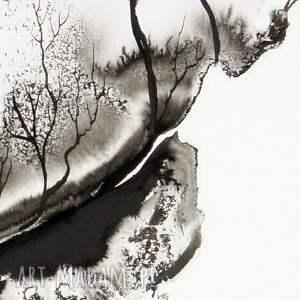 szare grafika grafiki-do-salonu 50x70 cm wykonana ręcznie