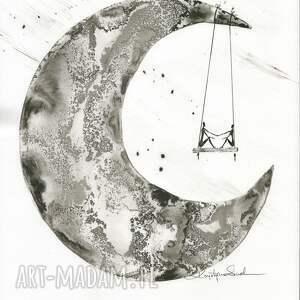 ART Krystyna Siwek obrazy autorskie grafika 30x40 cm wykonana ręcznie