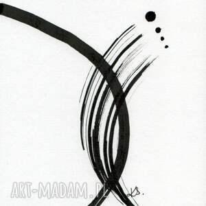 minimalizm zestaw 6 grafik 13x13 cm wykonanych