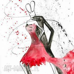 grafika abstrakcja-obrazy zestaw 2 obrazów 30 x 60 cm