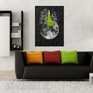 grafika zielarka... art print a4