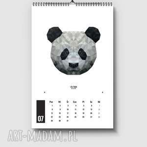 niebieskie kalendarze kalendarz 12 plakatów lfd