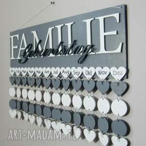 oryginalne kalendarz rodzinny