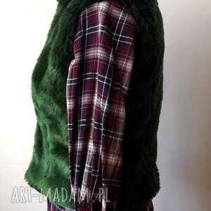atrakcyjne kamizelki kamizelka z futra