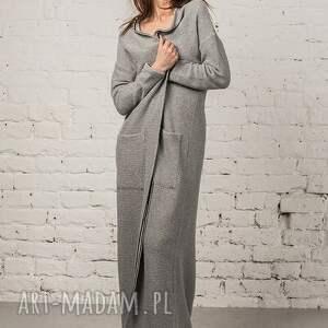 kamizelki: Płaszczyk Narzutka Penelop Long - płaszcz