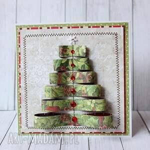 pomysł na prezenty święta choinka choinki, choinki - komplet kartek